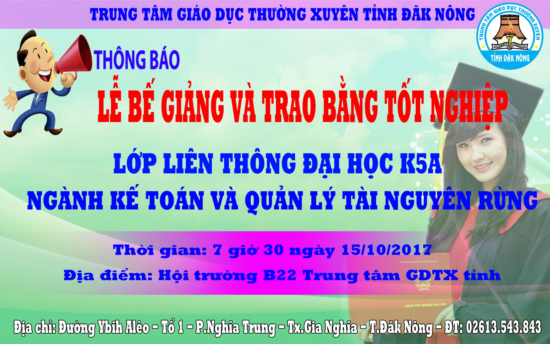 THONG BAO LE BE GIANG