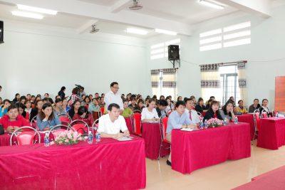 Lễ khai giảng khóa Bồi dưỡng theo chuẩn chức danh nghề nghiệp cho viên chức giảng dạy trong cơ sở giáo dục công lập