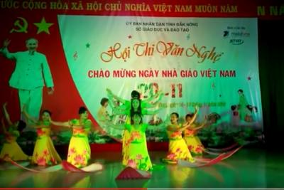 Hội thi văn nghê chào mừng ngày nhà giáo Việt Nam 20/11