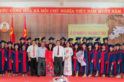 Lễ Tốt nghiệp và trao bằng Cử nhân ngành giáo dục mầm non