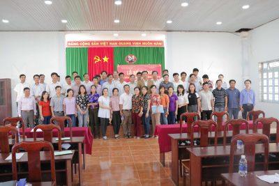 Hình ảnh Lễ bế giảng lớp Bồi dưỡng tiếng M'Nông cho cán bộ, công chức cấp xã theo Đề án 124 tại huyện Tuy Đức