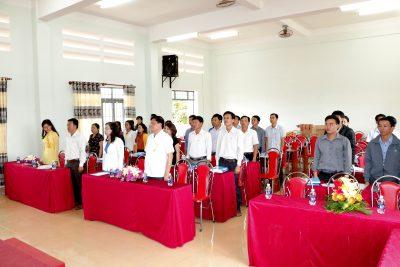 Khai giảng lớp Cán bộ quản lý Trường trung học năm 2017