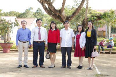 Khai giảng lớp chuẩn chức danh nghề nghiệp tại Trường tiểu học Nơ Trang Lơng – Quảng Sơn