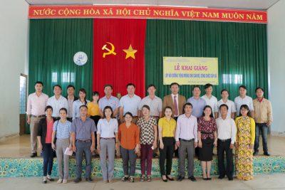 Lễ khai giảng lớp bồi dưỡng tiếng Mông cho Cán bộ, công chức cấp xã theo đề án 124 tại Đăk Glong