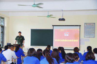 Tuyên truyền về chủ quyền biển đảo và Chiến lược bảo vệ Tổ quốc trong tình hình mới, thực hiện Luật Nghĩa vụ quân sự cho đoàn viên thanh niên