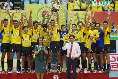 Bế mạc Giải Bóng chuyền Cúp PV- Đạm Cà Mau năm 2018