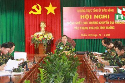 Khai mạc Diễn tập khu vực phòng thủ tỉnh Đắk Nông năm 2018