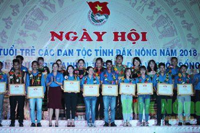 Sôi nổi Ngày hội tuổi trẻ các dân tộc tỉnh Đắk Nông năm 2018