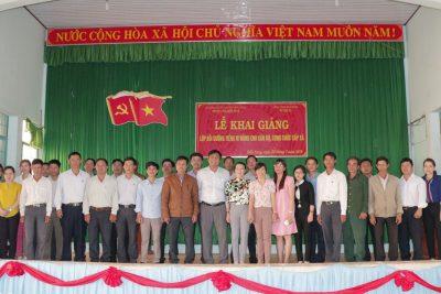Lễ khai giảng Tiếng M'Nông cho Cán bộ, Công chức cấp xã